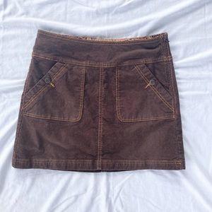 PrAna Brown Skirt Women's Size 2